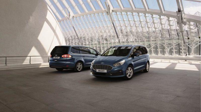 Ford představil inovace u modelů S-MAX a Galaxy