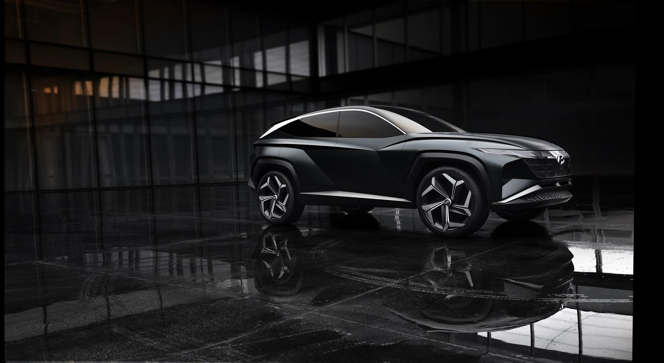 Hyundai představilo v Los Angeles nové kompaktní SUV s vyjímatelnými bateriemi