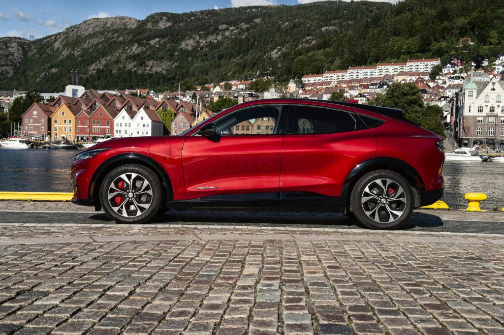 Ford Mustang Mach-E je otestován pro Evropu