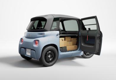 Citroën představil My Ami Cargo, kompaktní distribuční vozítko na baterky