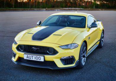 Ford Mustang Mach 1 je ještě výkonnější